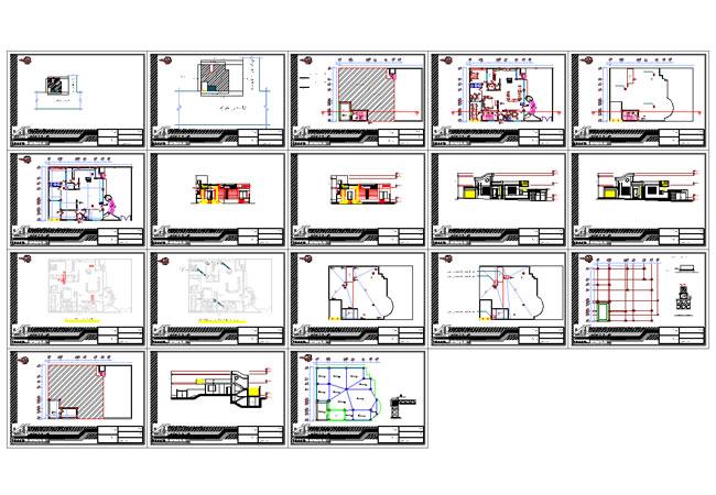 پیش نمایش نقشه ویلایی دو طبقه