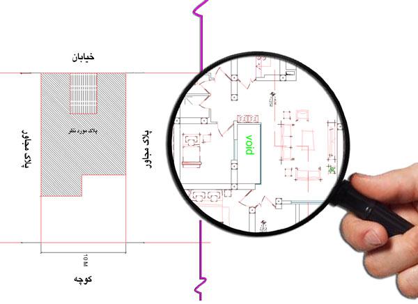 نقشه اتوکدی منزل