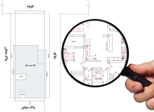 نقشه خانه دو طبقه