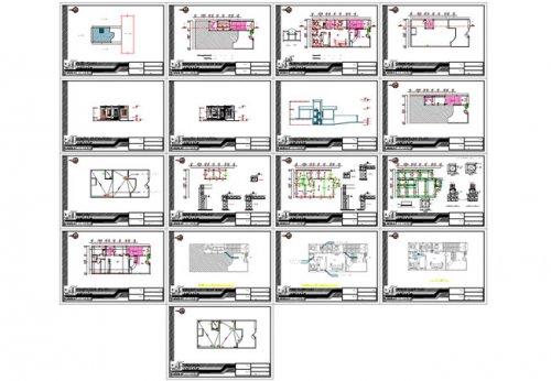 شیت بندی خانه دو طبقه