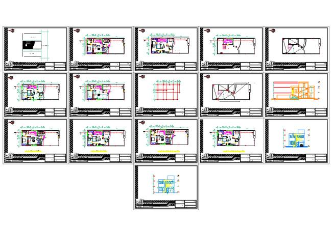 پیشنمایش دانلود پلان معماری