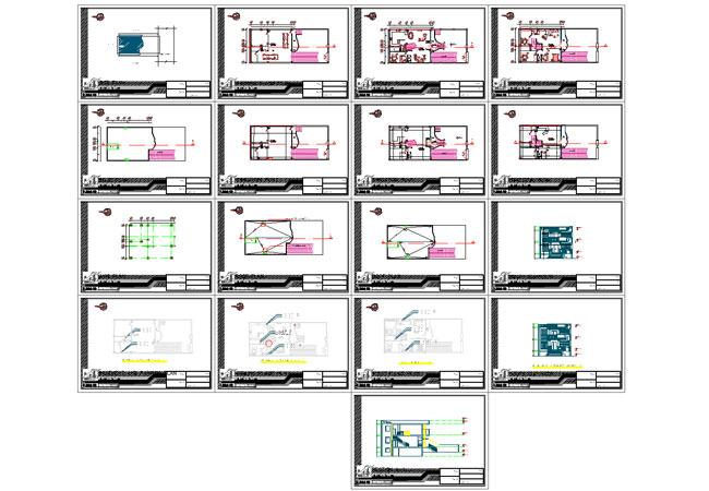 پیش نمایش نقشه معماری منزل