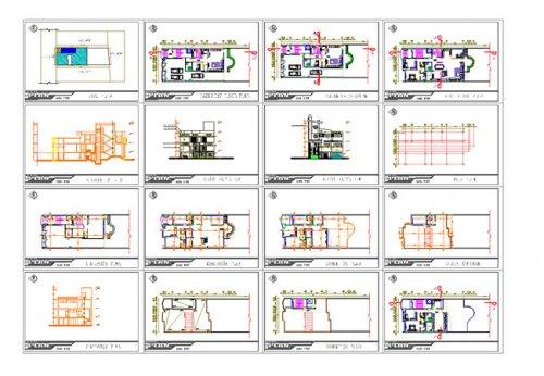 پیشنمایش نقشه معماری