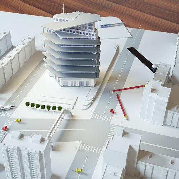 طراحی نقشه ساختمان خانه معمار