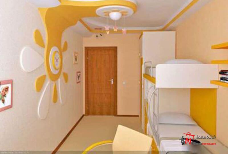 اتاق خواب کودک - نمونه 04 |خانه معمار
