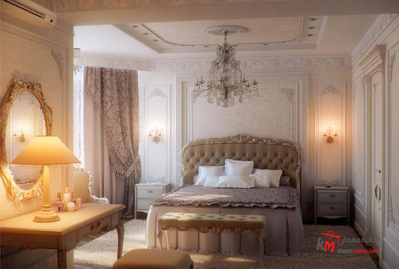 اتاق خواب نمونه 05 |خانه معمار