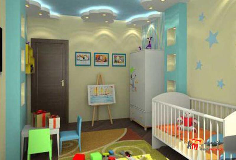 اتاق خواب کودک - نمونه 10|خانه معمار