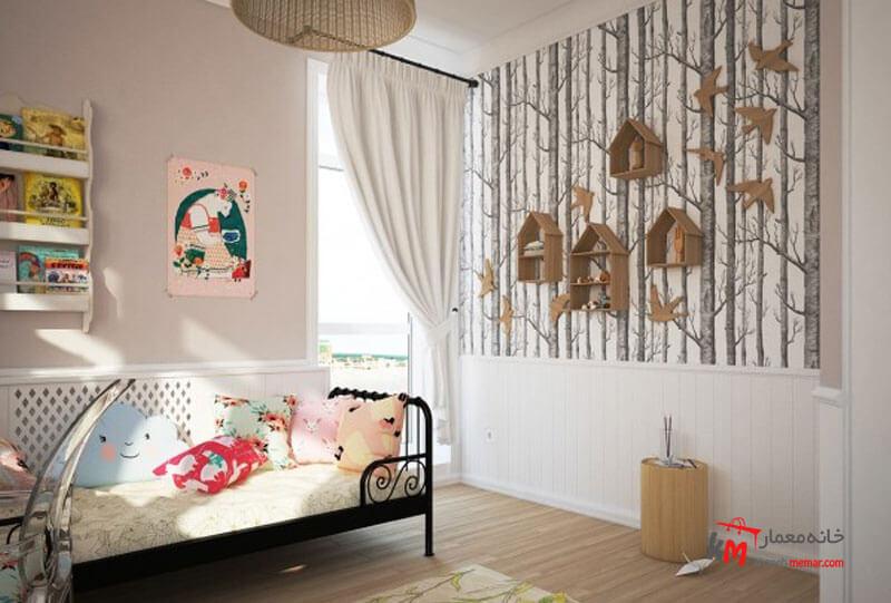 اتاق خواب کودک - نمونه 16|خانه معمار