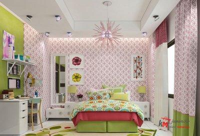 اتاق خواب کودک - نمونه 17|خانه معمار