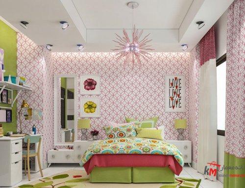 اتاق خواب کودک نمونه 17