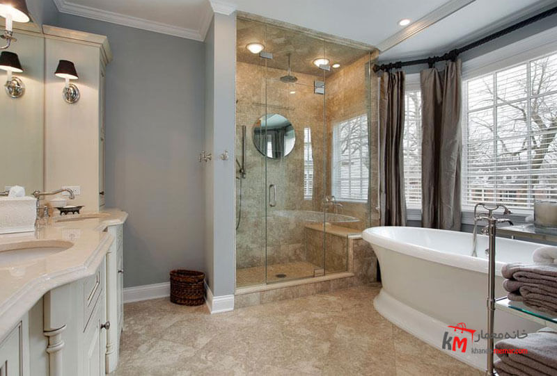 حمام و سرویس بهداشتی نمونه 25|خانه معمار
