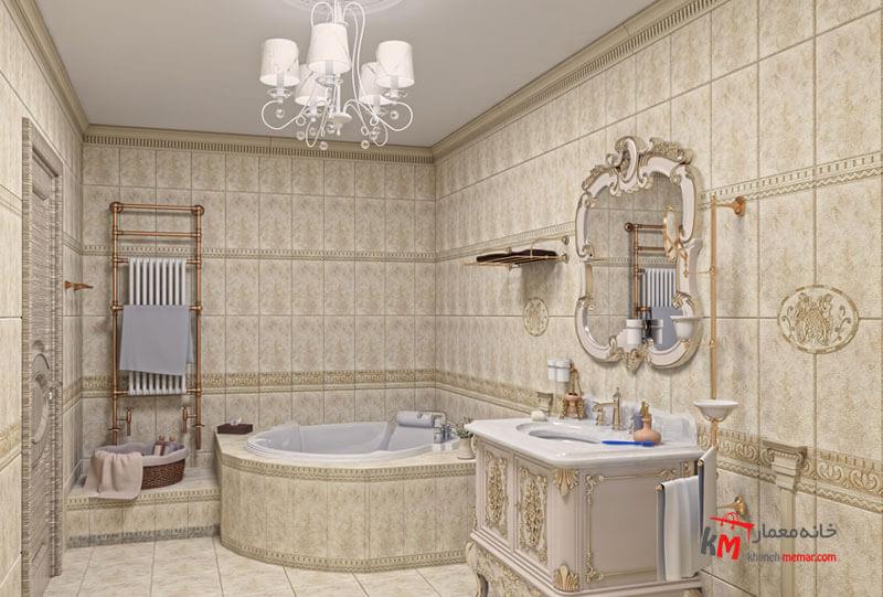 حمام و سرویس بهداشتی نمونه 27|خانه معمار