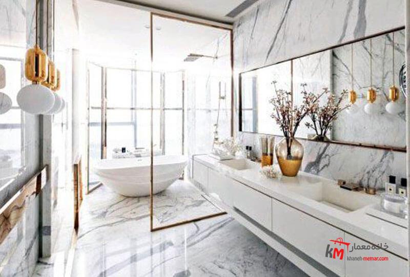حمام و سرویس بهداشتی نمونه 33|خانه معمار