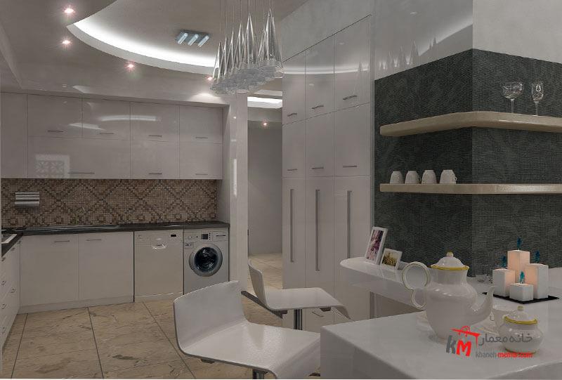 طراحی دکوراسیون داخلی خیابان آزادگان- 401-04 |خانه معمار