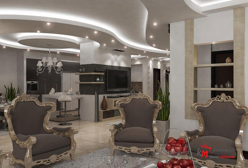 طراحی دکوراسیون داخلی خیابان آزادگان- 401-05 |خانه معمار