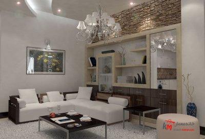 طراحی دکوراسیون داخلی خیابان آزادگان- 401-07 |خانه معمار