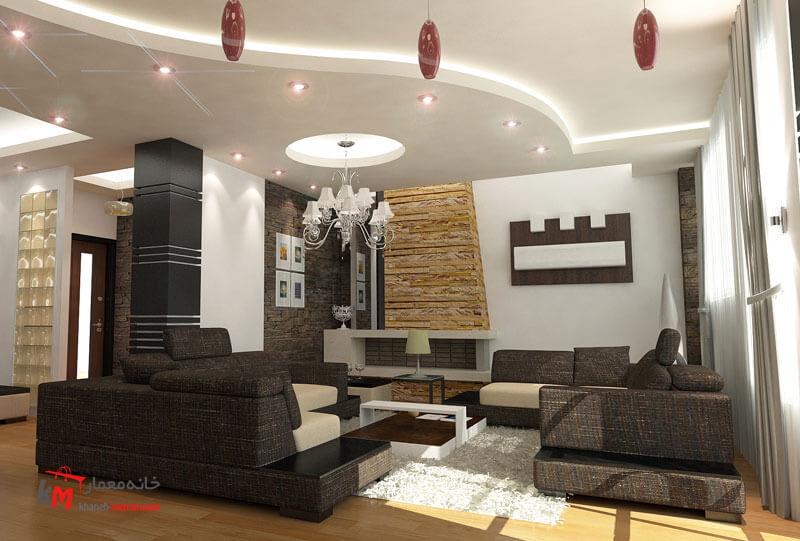 نمونه کارهای طراحی دکوراسیون409-002|خانه معمار