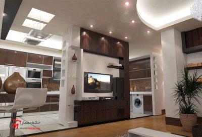 نمونه کارهای طراحی دکوراسیون409-003|خانه معمار