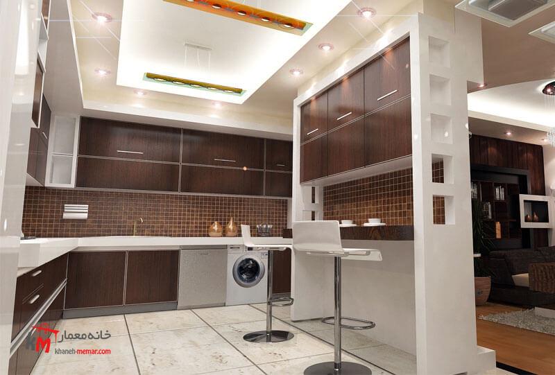 نمونه کارهای طراحی دکوراسیون409-005|خانه معمار