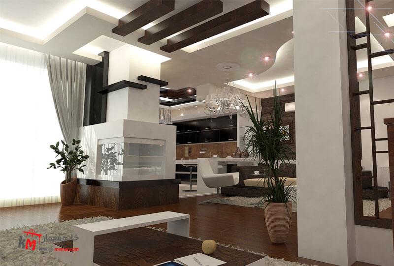نمونه کارهای طراحی دکوراسیون409-3(2)|خانه معمار