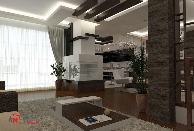 نمونه کارهای طراحی دکوراسیون409-6|خانه معمار