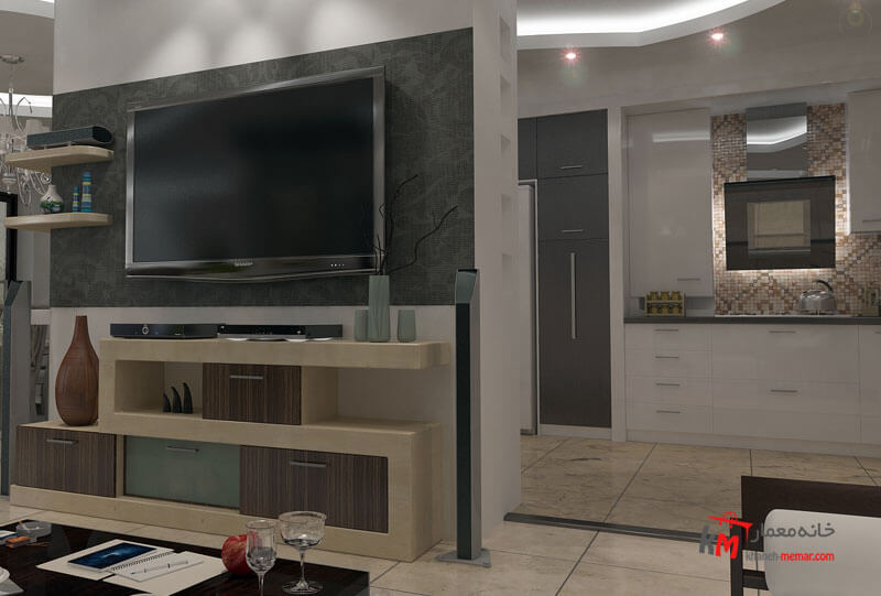 نمونه کارهای طراحی دکوراسیون443-01|خانه معمار