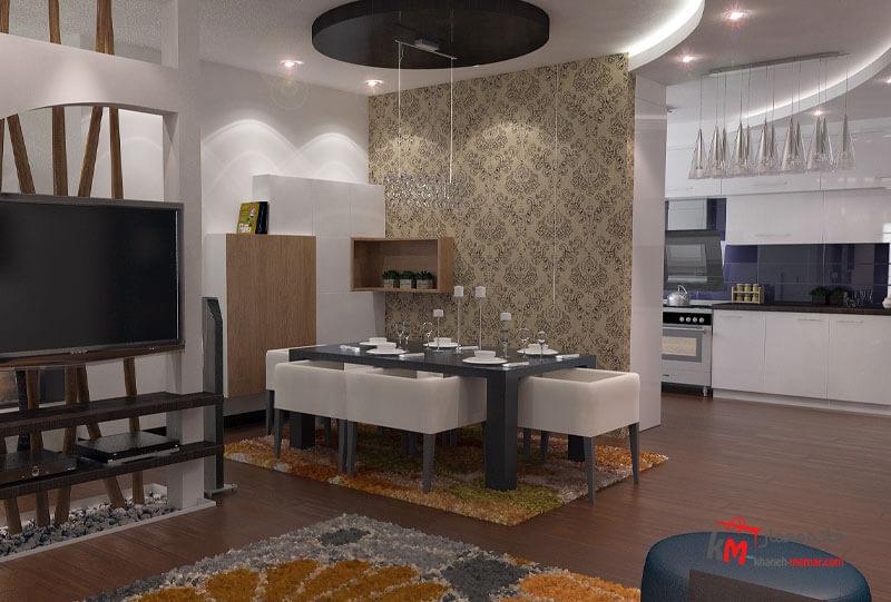نمونه کارهای طراحی دکوراسیون443-03|خانه معمار