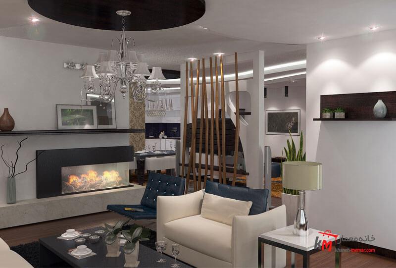 نمونه کارهای طراحی دکوراسیون443-06|خانه معمار