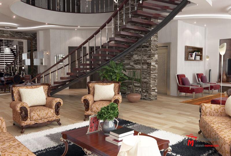 طراحی دکوراسیون داخلی بلوار شهید بهشتی شمالی- 495-02 |خانه معمار