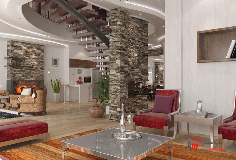 طراحی دکوراسیون داخلی بلوار شهید بهشتی شمالی- 495-04 |خانه معمار