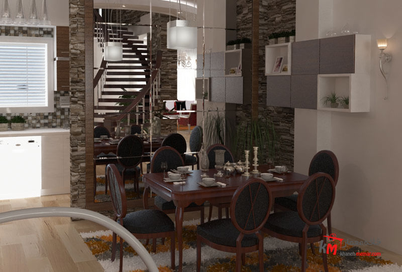 طراحی دکوراسیون داخلی بلوار شهید بهشتی شمالی- 495-06 |خانه معمار
