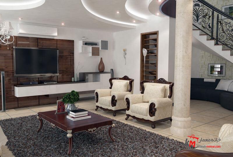 طراحی دکوراسیون داخلی شهرک فاطمیه- 539-1 |خانه معمار