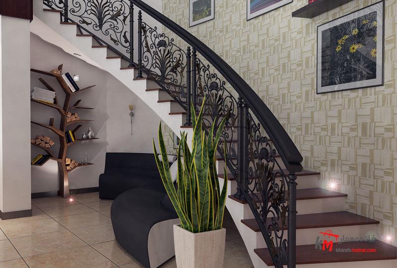 طراحی دکوراسیون داخلی شهرک فاطمیه- 539-2 |خانه معمار