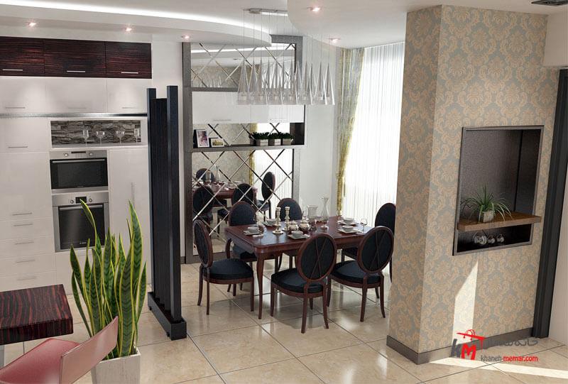 طراحی دکوراسیون داخلی شهرک فاطمیه- 539-5 |خانه معمار
