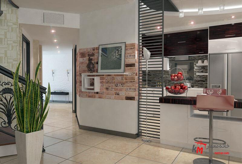 طراحی دکوراسیون داخلی شهرک فاطمیه- 539-7 |خانه معمار