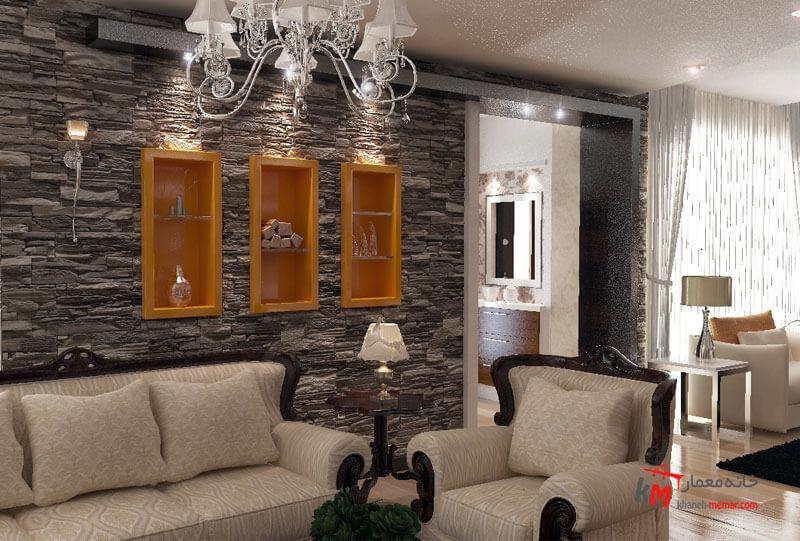 طراحی دکوراسیون بلوار نخلستان 549.12 |خانه معمار