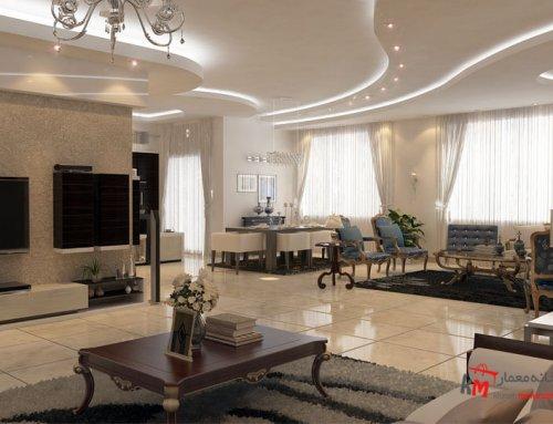 طراحی دکوراسیون منزل شهرستان قیر بلوار معلم