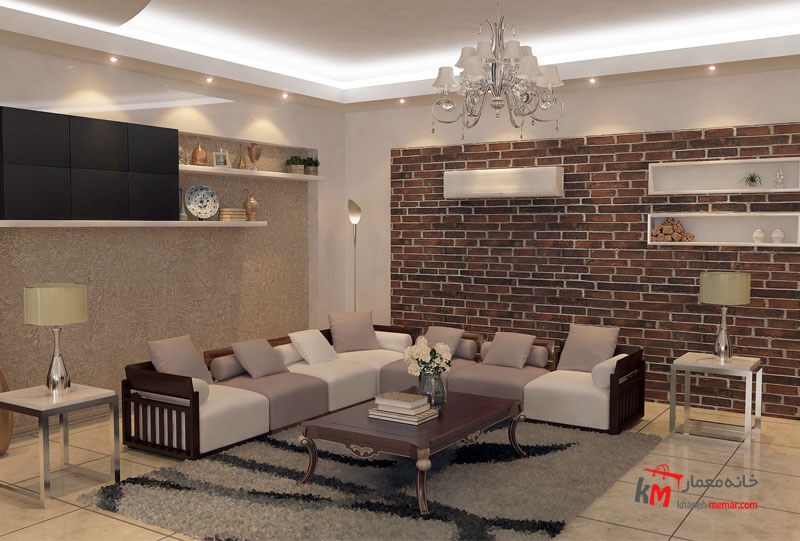 طراحی دکوراسیون شهرستان قیر بلوار معلم 559.6|خانه معمار