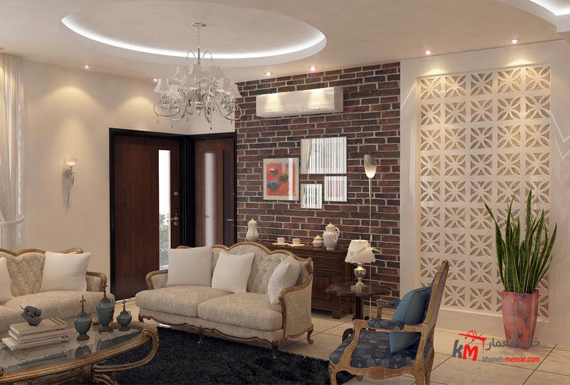 طراحی دکوراسیون شهرستان قیر بلوار معلم 559.7|خانه معمار