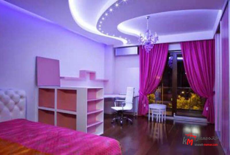 اتاق خواب کودک - نمونه 07 |خانه معمار