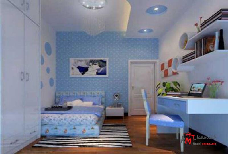 اتاق خواب کودک - نمونه 08 |خانه معمار