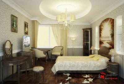 اتاق خواب نمونه 06 |خانه معمار