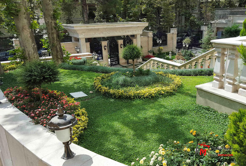 طراحی فضای سبز نمونه 14|خانه معمار