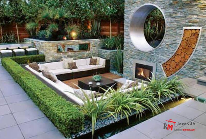 طراحی فضای سبز نمونه 16|خانه معمار