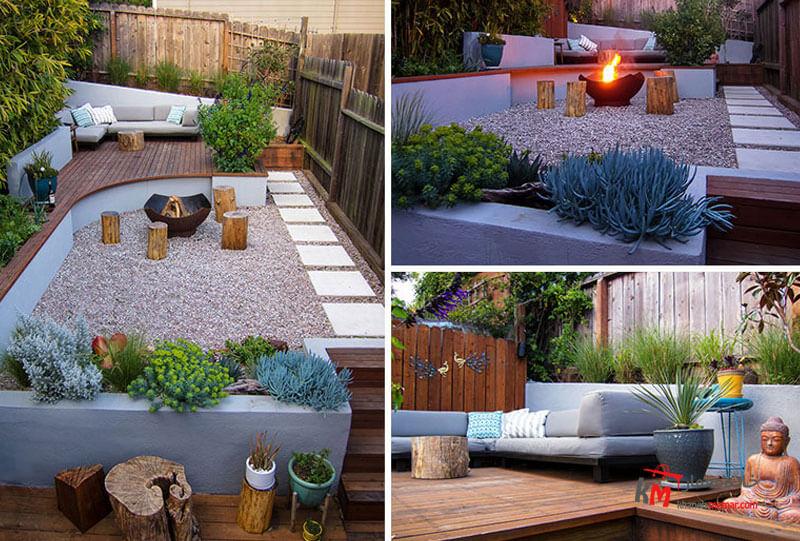 طراحی فضای سبز نمونه 18|خانه معمار