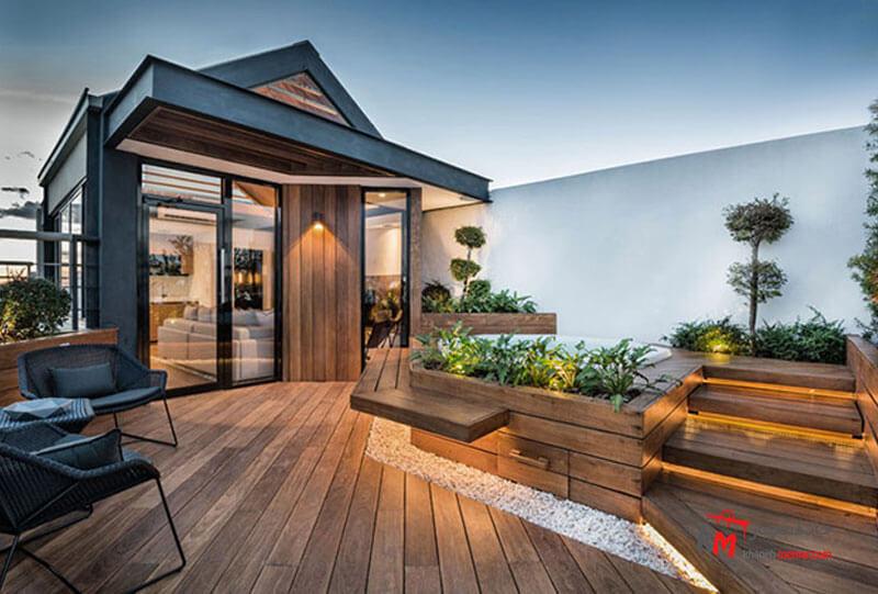 طراحی فضای سبز نمونه 19|خانه معمار