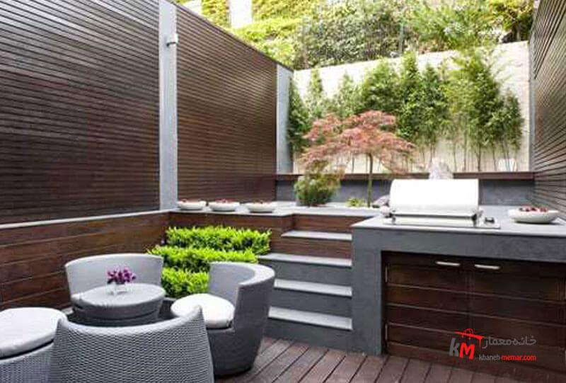 طراحی فضای سبز نمونه 22|خانه معمار