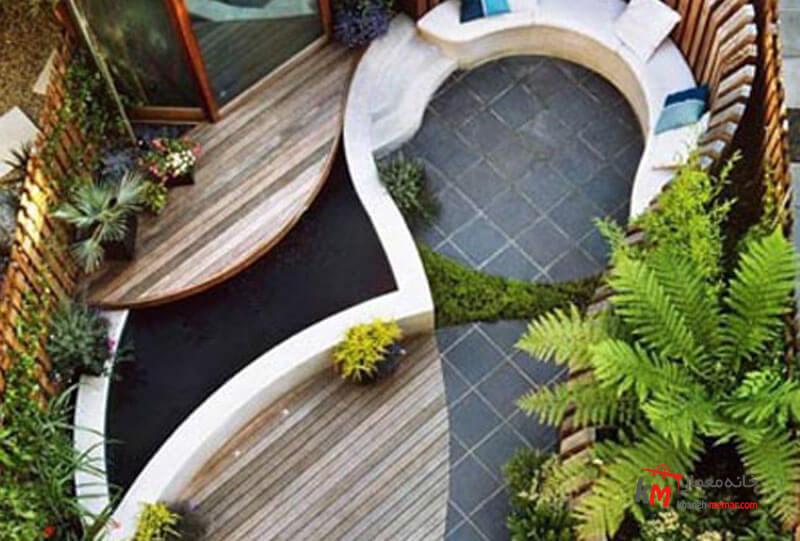 طراحی فضای سبز نمونه 24|خانه معمار