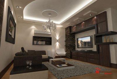 طراحی دکوراسیون داخلی شهرک انقلاب- 424-02 |خانه معمار