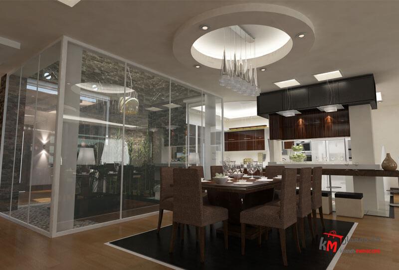 طراحی دکوراسیون داخلی شهرک انقلاب- 424-03 |خانه معمار